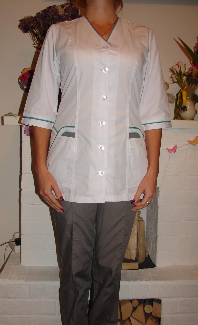 Женский медицинский костюм 22105-2 (батист 60-70 р-ры )