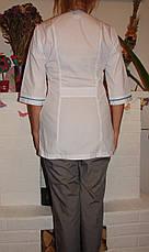 Женский медицинский костюм 22105-2 (батист 60-70 р-ры ), фото 3
