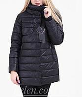 Куртка удлиненная весна-осень,черная