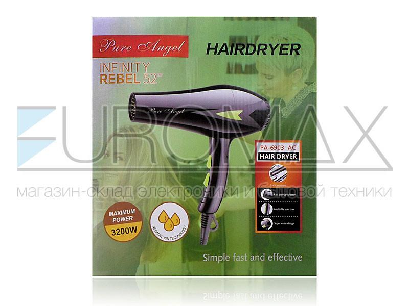 Фен для волос Pure Angel 3200Вт PA-6903