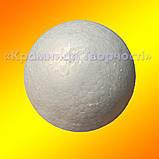 Заготівля пінопластова Куля (10 див), фото 3