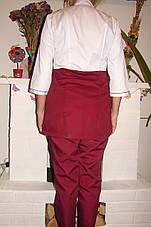 Стильный медицинский костюм ( батист 42-60 р-ры ), фото 3