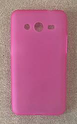Силиконовый чехол-накладка для Samsung Galaxy J1 (J100) (Pink)