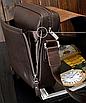 Мужская сумка барсетка через плечо Kangaroo Черный, фото 6