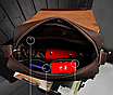 Мужская сумка барсетка через плечо Kangaroo Черный, фото 7