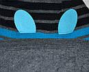 Зимняя шапка в полоску для мальчика Чудо :) (AJS, Польша), фото 2