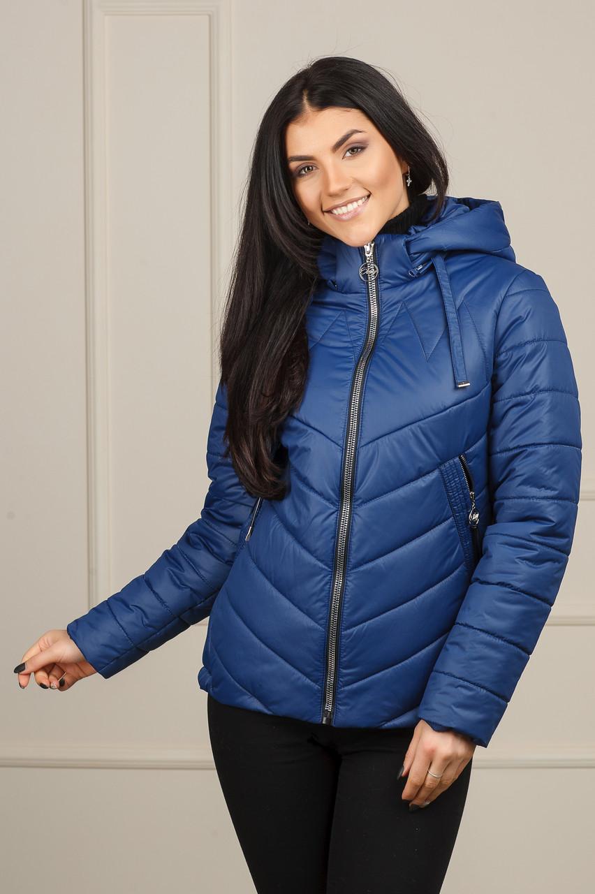 Куртка демисезонна Жанет цвет синий