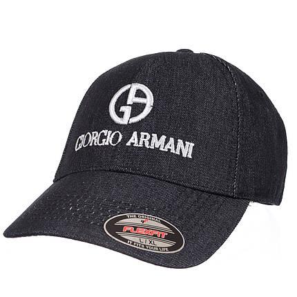 Бейсболка GIORGIO ARMANI джинс черный, фото 2