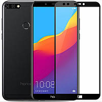 Защитное цветное стекло Mocolo (full glue) на весь экран для Huawei Y9 (2018) / Enjoy 8 Plus