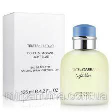 Чоловічий парфум Dolce&Gabbana Light Blue 125 ml tester, фото 2