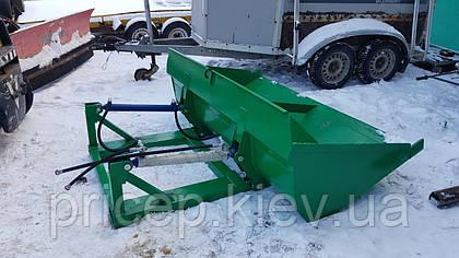 Ковш на вилочный погрузчик. Унифицируем складской погрузчик для строительных и планировочных работ.