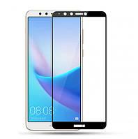 Защитное цветное стекло Mocolo (full glue) на весь экран для Huawei Y7 Prime (2018)