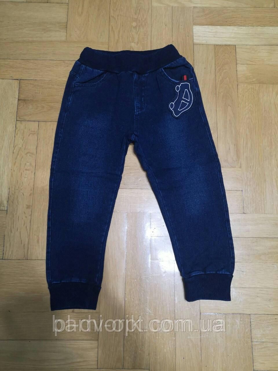 Штаны под джинс с микроначесом на мальчика   3мес.6мес.9мес1, 2, , , года