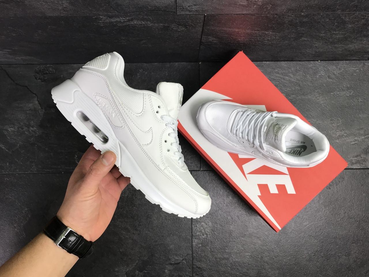 Мужские кроссовки Nike Air Span II (Белые)