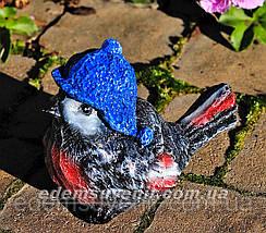 Садовая фигура Воробьи, Синичка, Снегирь, фото 3