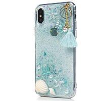 "TPU+PC чехол Sea Beauty для Apple iPhone X (5.8"") / XS (5.8"")"