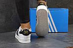 Мужские кроссовки Adidas Superstar (бело-черные) , фото 8