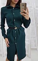 Платье женское с воротничком  руд205, фото 1