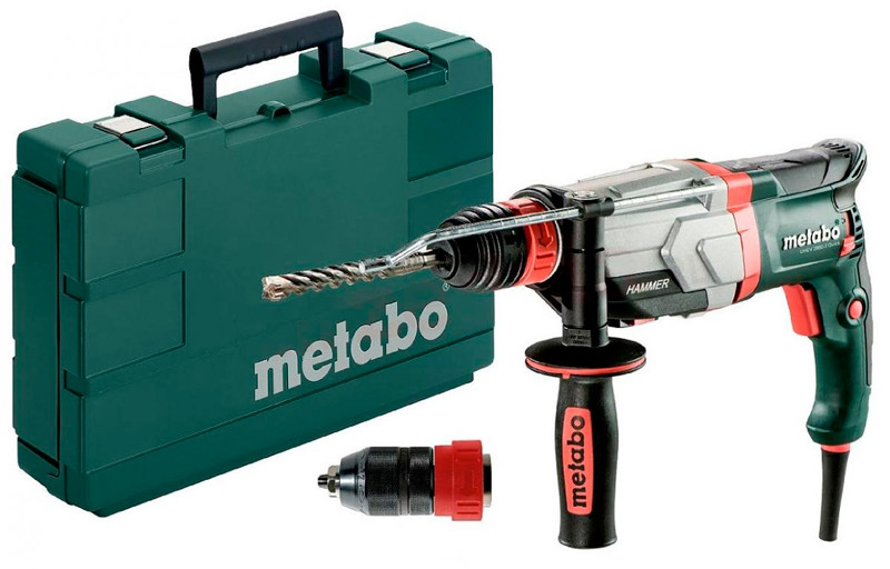 Перфоратор Metabo UHE 2660-2 Quick + кейс + БЗП (600697500)