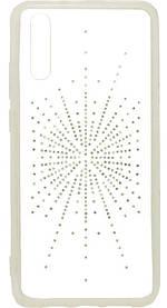 Силикон Huawei P20 White Silver Shine