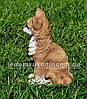 Садовая фигура Бульдог сидячий и Мурчик, фото 5