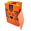 Детский ящик для игрушек с крышкой Тигр 35*35 см, фото 3