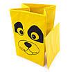 Детский ящик для игрушек с крышкой Собака 35*35 см, фото 3