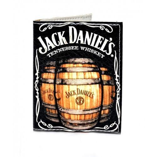 Обложка на ID паспорт Jack Daniels