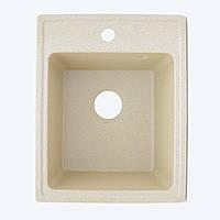 Гранитная мойка Platinum 4050 Sand