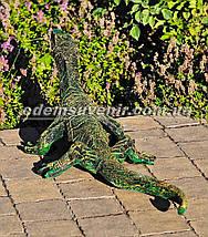 Садовая фигура Варан малый и Крокодил средний, фото 2
