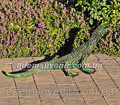 Садовая фигура Варан малый и Крокодил средний, фото 3