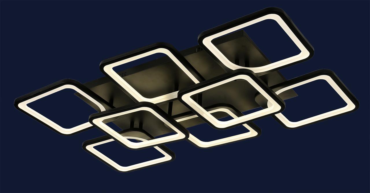 Светодиодная потолочная люстра Levistella 755MX10005-6+2 BK