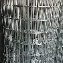 Сітка зварна оцинкована, Осередок 35х35 мм, Діаметр 1,8 мм, Ширина 1,5 м, довжина 10 метрів