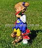Садовая фигура Мальчик с арбузом и Девочка с арбузом, фото 2
