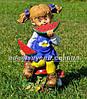 Садовая фигура Мальчик с арбузом и Девочка с арбузом, фото 4