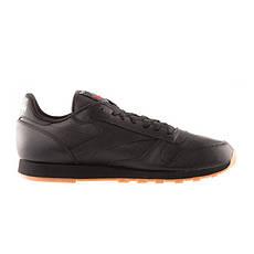 Кросівки Кроссовки REEBOK Classic Black Leather 49800 Оригинал(03-01-07) 46, фото 3