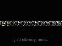 Серебряная цепочка ЛАВ, LOVE (5-8 грамм) 45 см