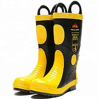 Резиновые сапоги для пожарных, фото 1