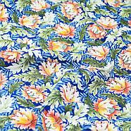 48003 Диковинный цвет. Ткань с изящным рисунком. Красочный хлопок. Ткани для шитья и декора., фото 2