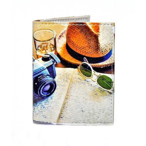 Красивая обложка на ID паспорт Вояж