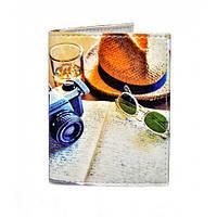 Красивая обложка на ID паспорт Вояж, фото 1