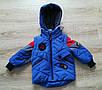 Куртка весенняя для мальчика  от производителя    20-28 красный, фото 4