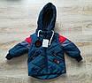 Куртка весенняя для мальчика  от производителя    20-28 красный, фото 6