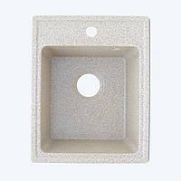 Гранитная мойка Platinum 4050 RUBY глянец карамель