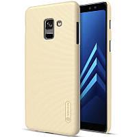 Чехол Nillkin Matte для Samsung A730 Galaxy A8+ (2018) (+ пленка)