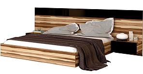 Кровать Соната с тумбами без каркаса орех балтимор ТМ Миро Марк