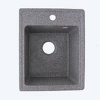 Гранитная мойка Platinum 4050 RUBY глянец микс