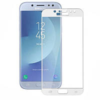 Защитное цветное стекло Mocolo (CP+) на весь экран для Samsung J330 Galaxy J3 (2017)