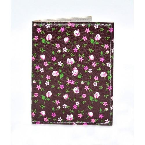 Обложка на ID паспорт Цветы