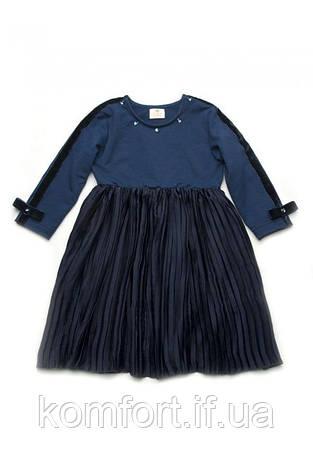 Платье с юбкой-плиссе, фото 2